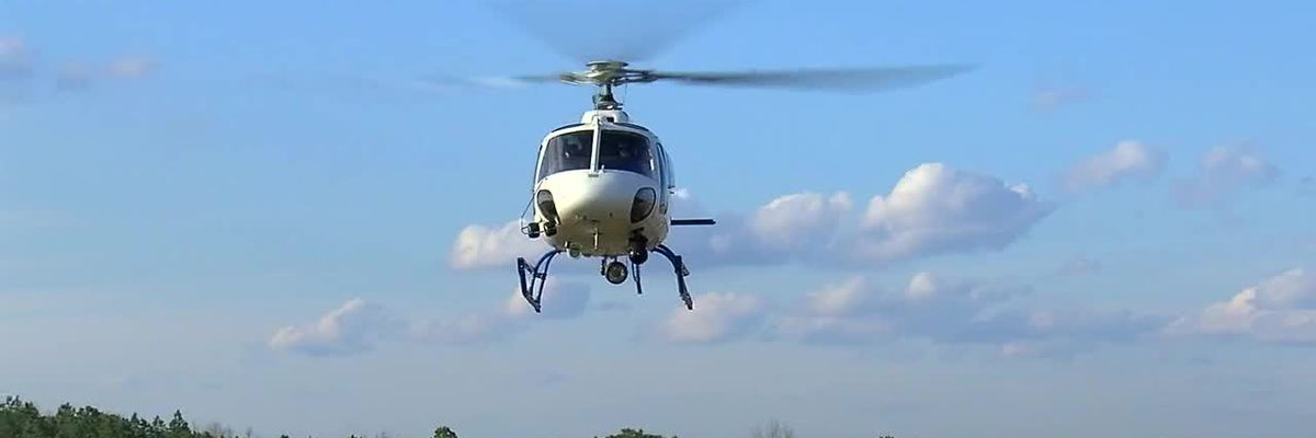 Firsthand look at new Metro Area Crime Center Helicopter