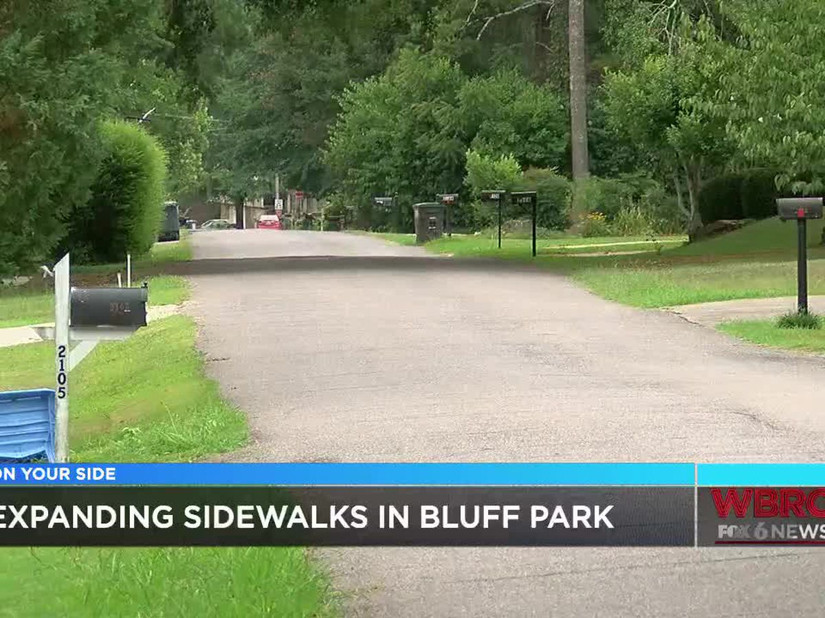 New sidewalks possibly coming to Bluff Park