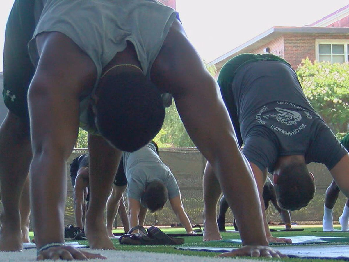 UAB Football turns to yoga to help with recovery