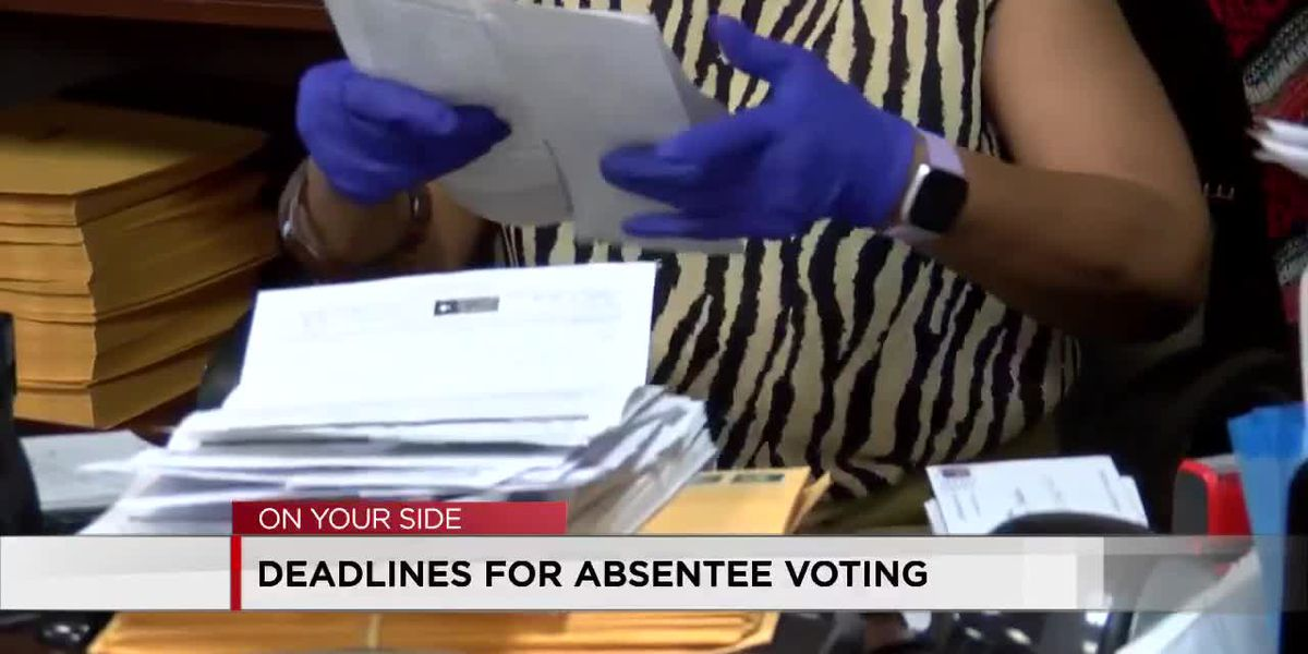 Absentee voting ballots