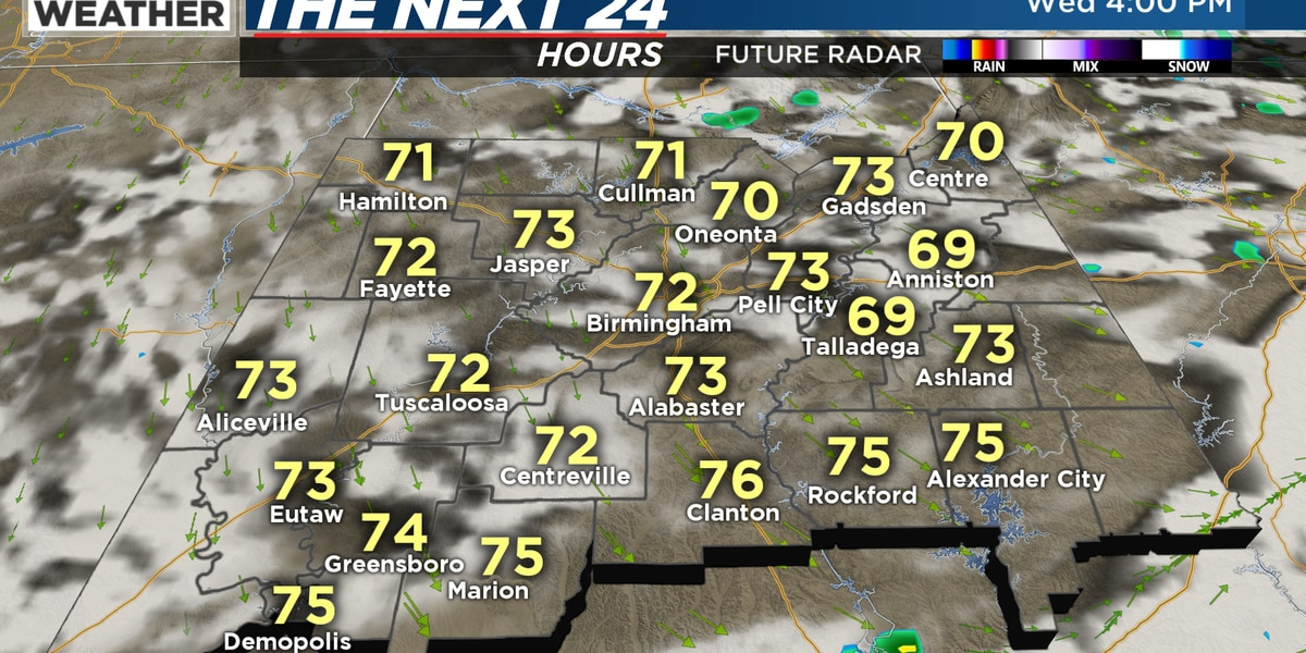 FIRST ALERT: A First Alert for patchy dense fog overnight and a much cooler start for Thursday