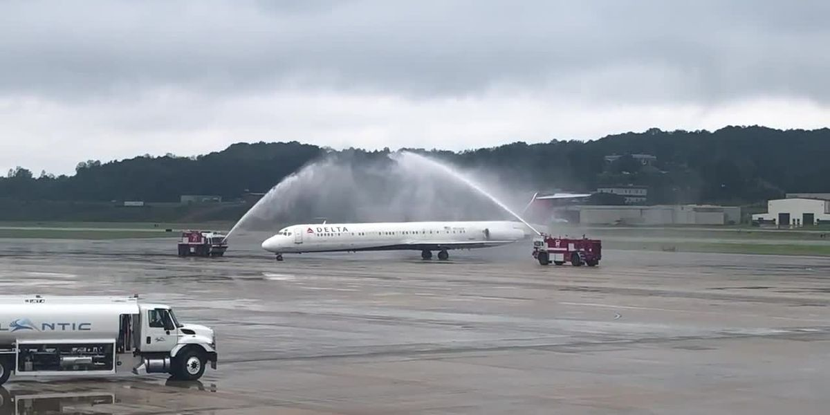 Delta Air Lines celebrates 90 years of service in Birmingham