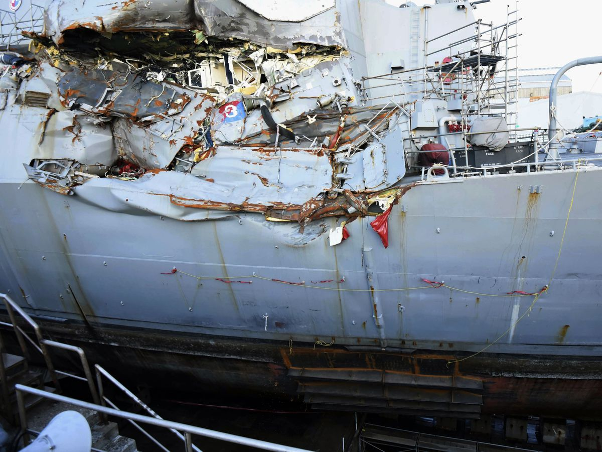 'Wall of water': Lawsuits detail deadly Navy collision