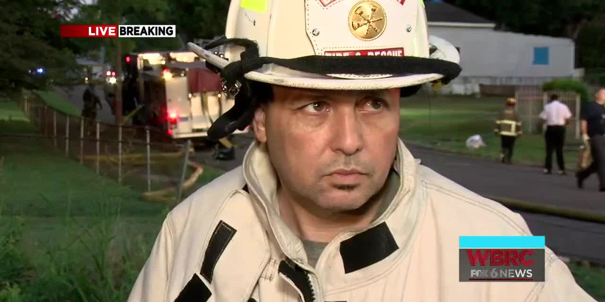 Battalion Chief Carrillo updates information on Wylam house fire