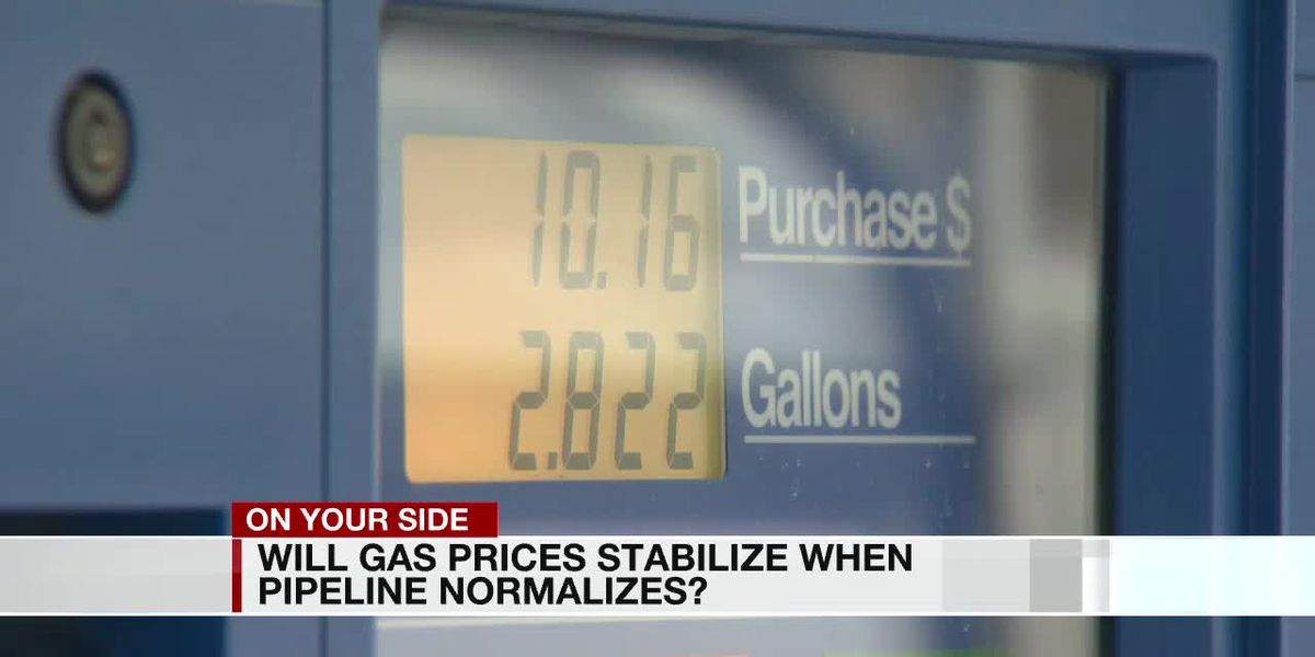 Will gas prices stabilize when pipeline normalizes?