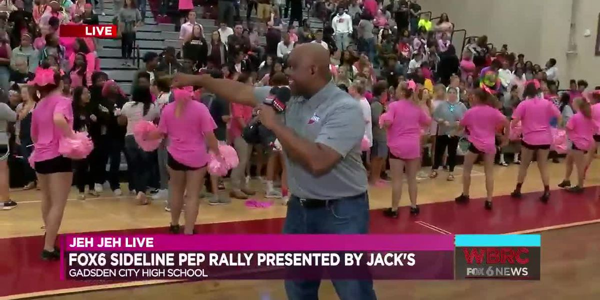 Jeh Jeh Live: Gadsden City High School Pep Rally (Part 3)