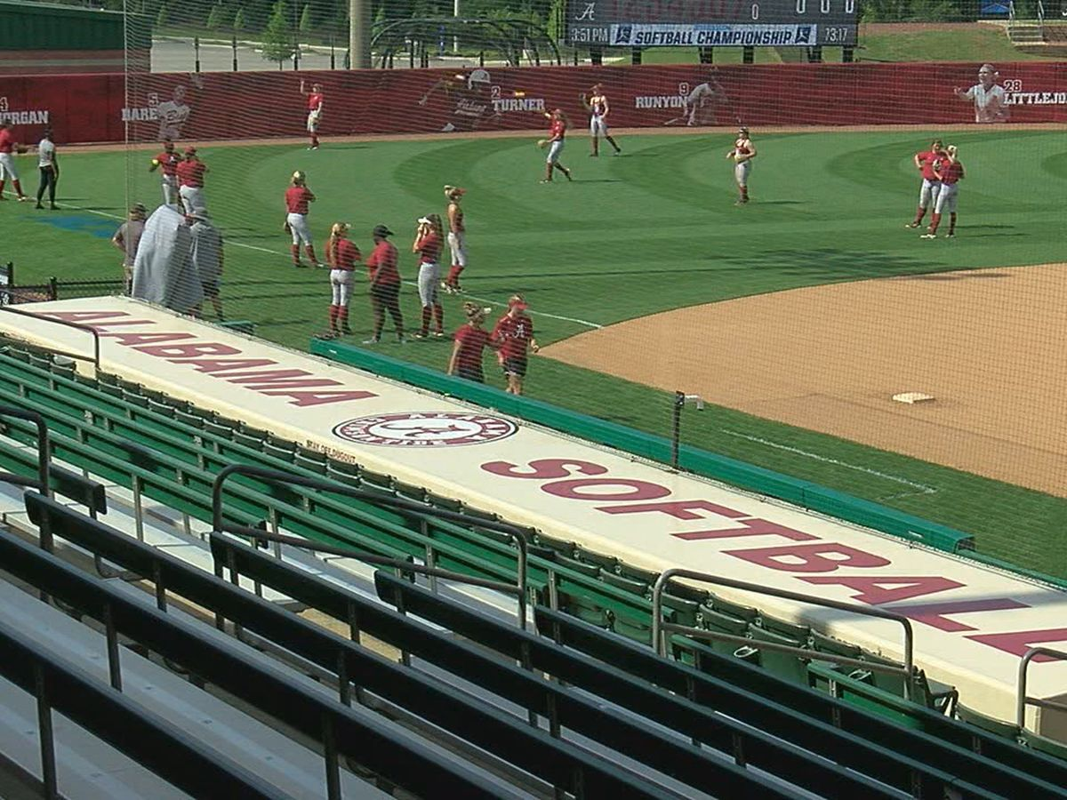Alabama softball ready for NCAA regionals
