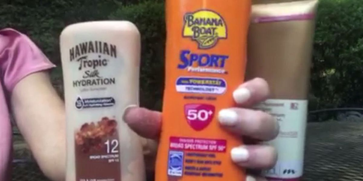 Important ingredients to look for in your sunscreen