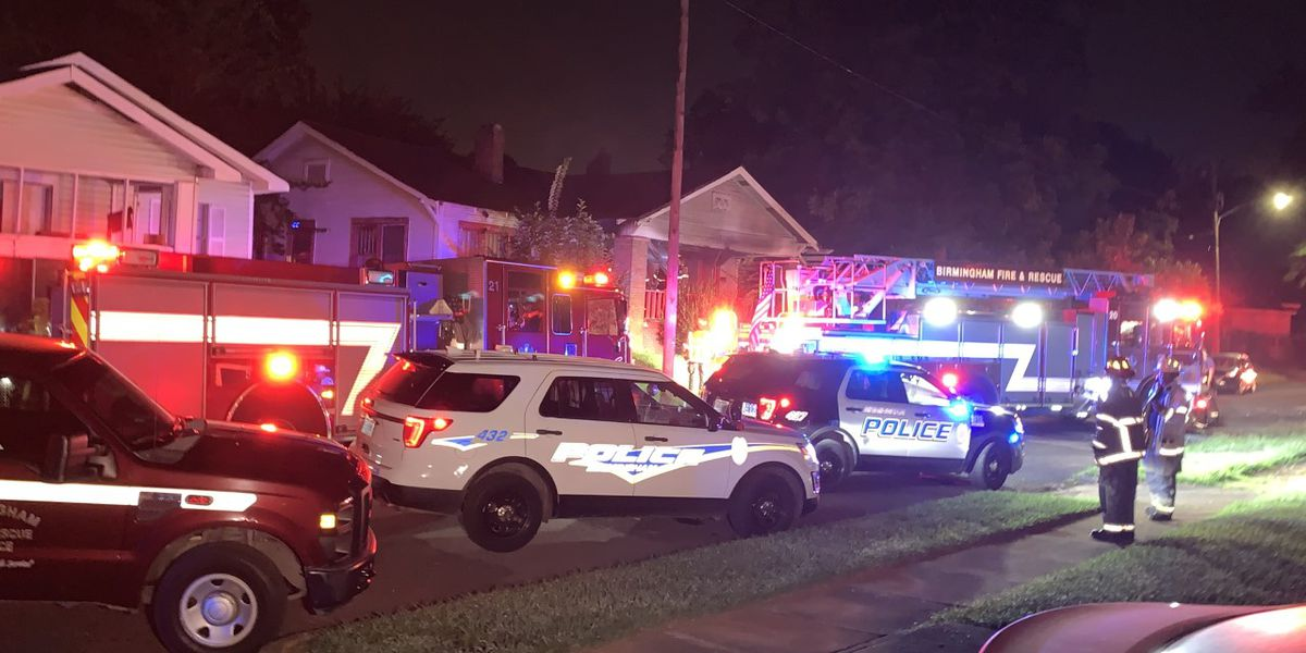 Birmingham family escapes early-morning house fire