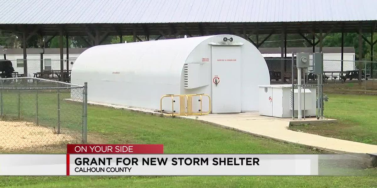 Grant for new Calhoun Co. storm shelter