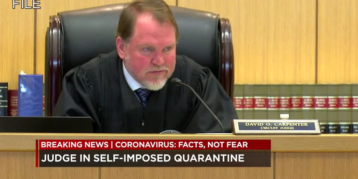 Bessemer circuit court judge exposed to coronavirus, worries about impact to justice system.