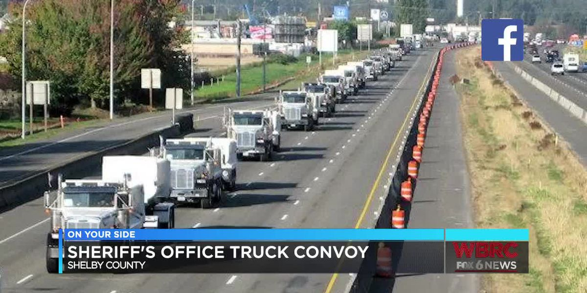 Shelby Co. truck convoy