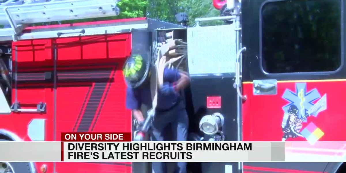 B'ham Fire and Rescue committed to increasing racial, gender diversity throughout department