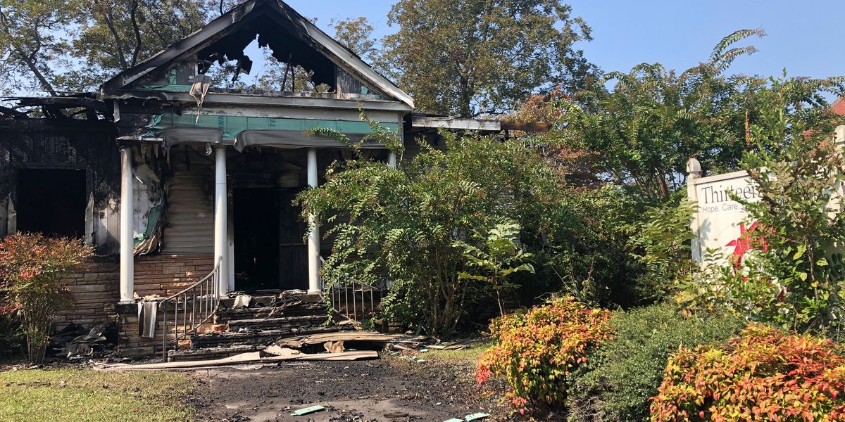 Fire that destroyed former homeless shelter appears to be arson, according to Gadsden fire chief