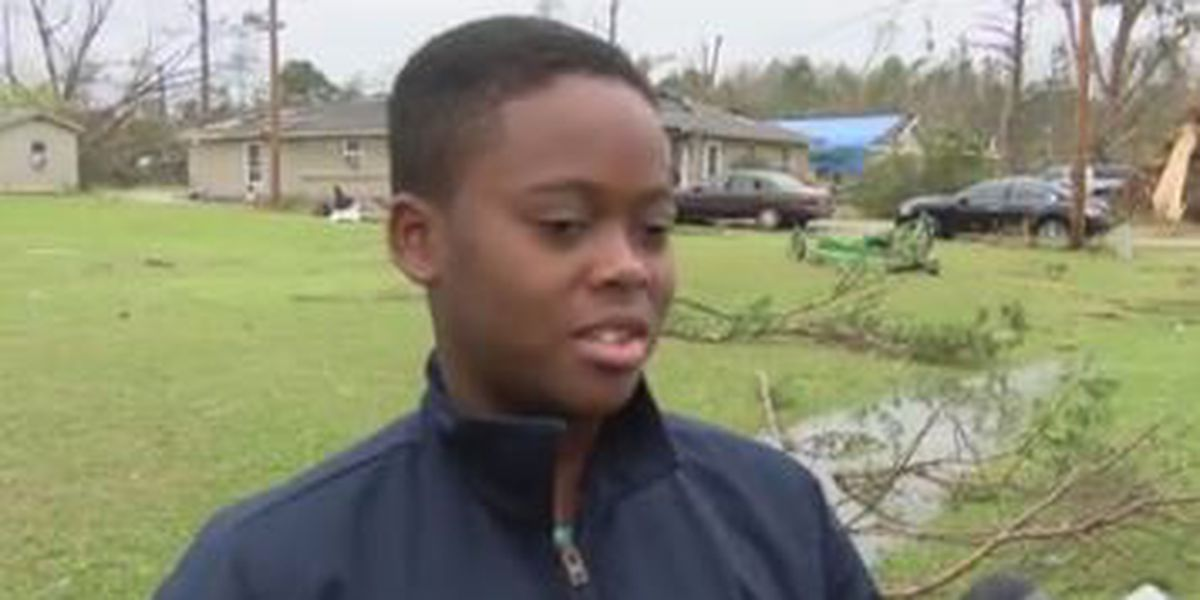 12-year-old Eufaula boy rescues uncle from tornado's path