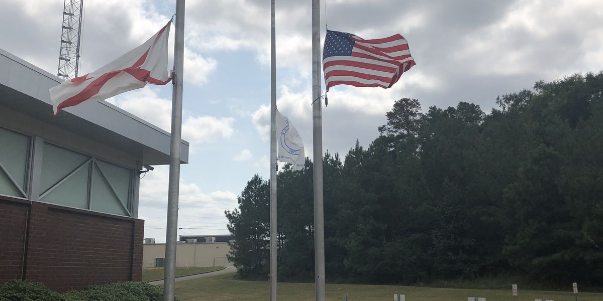 Law enforcement shows support to Tuscaloosa Police