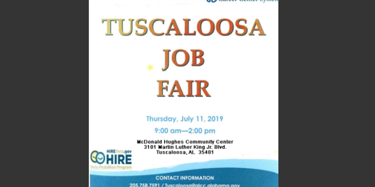 Job fair for veterans being held in Tuscaloosa