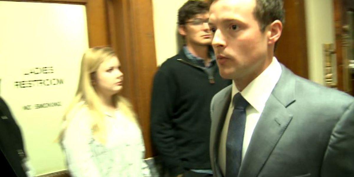 No prison time for Baylor frat president after plea deal in 2015 rape case