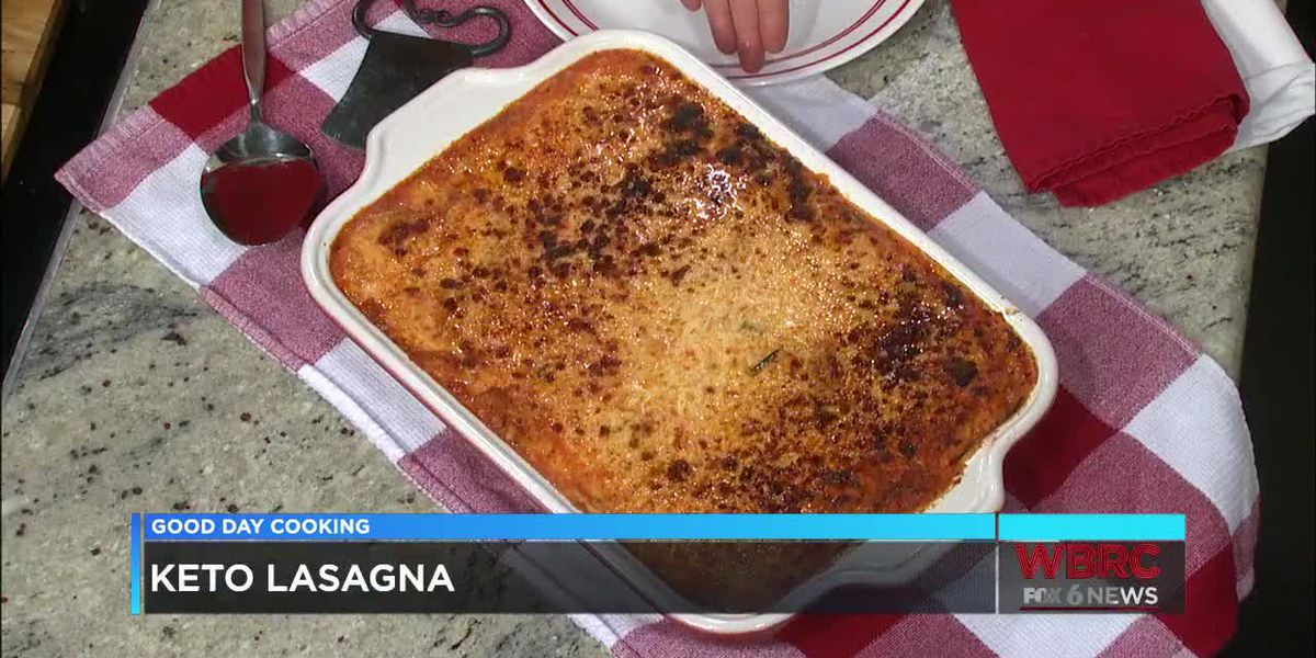 James K. Jones: Keto Lasagna