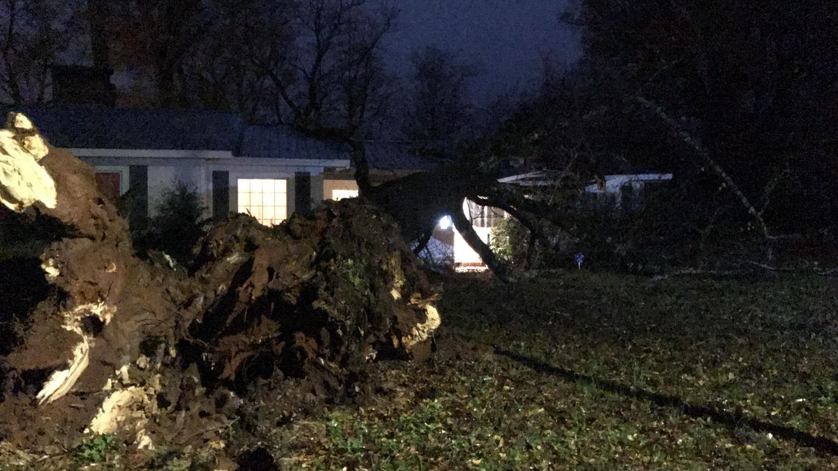Area cleaning up after weekend of storms