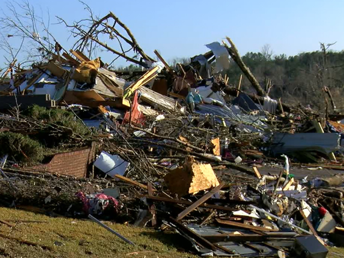 Heartbreaking look at Fultondale neighborhood hit by tornado