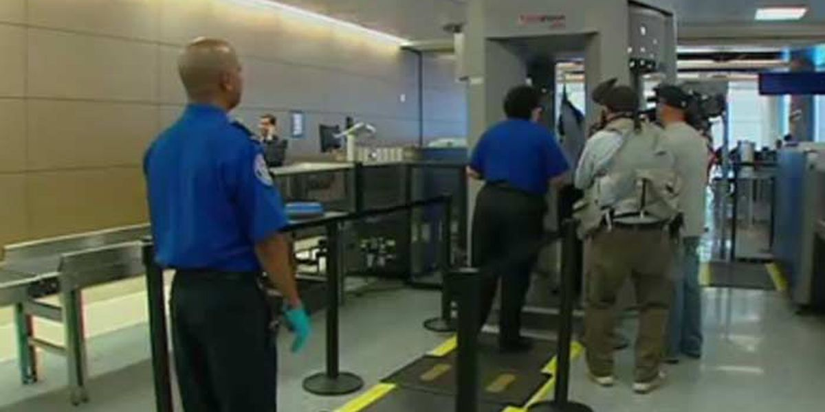 TSA rolls out new body scan rules; Live reports at 7:08 a.m.