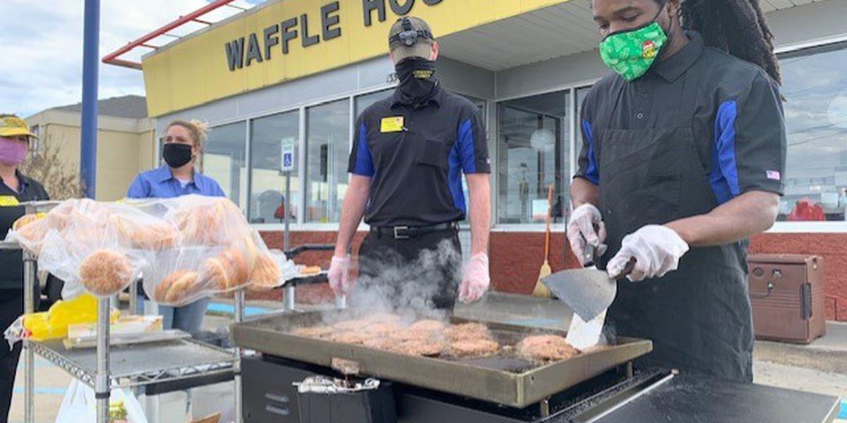 Fultondale Waffle House feeds community following tornado
