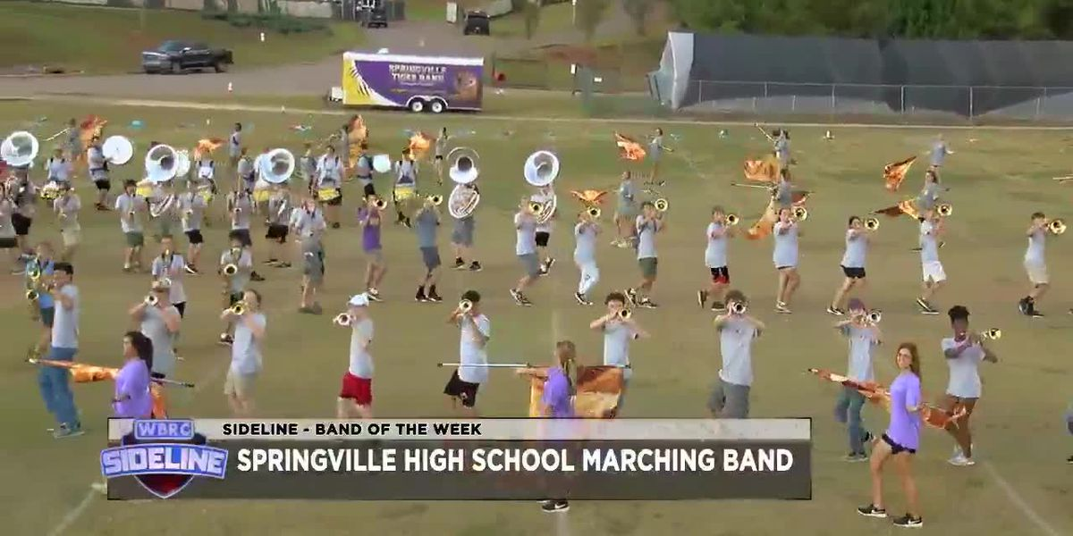 Sideline 2019 - Week 8 - Band of the Week - Springville HS