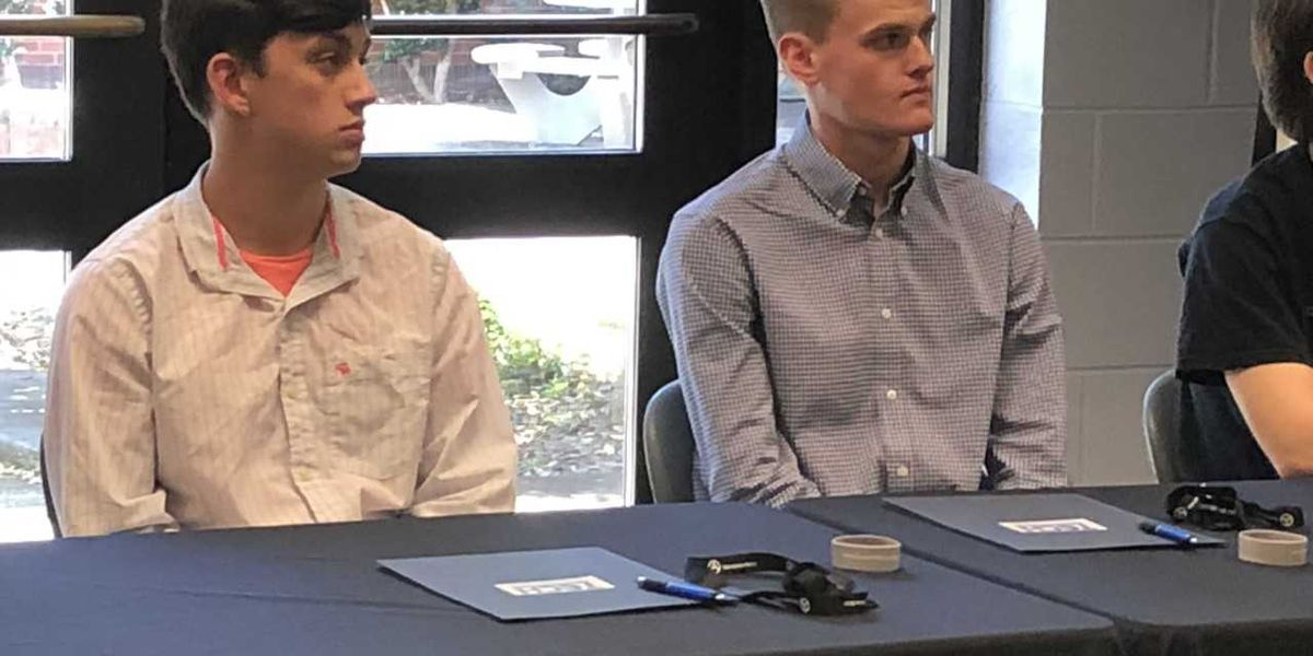 Signing day held for students enrolling in Mercedes Benz auto program