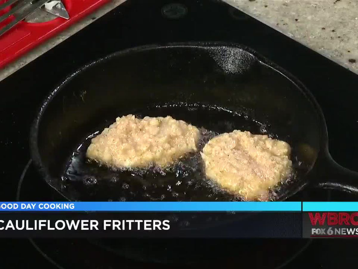 Wendy Cruse: Cauliflower Fritters