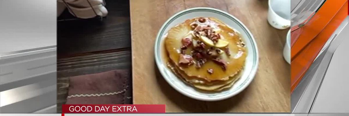 The Bitter Socialite: Pancakes with bacon and maple syrup