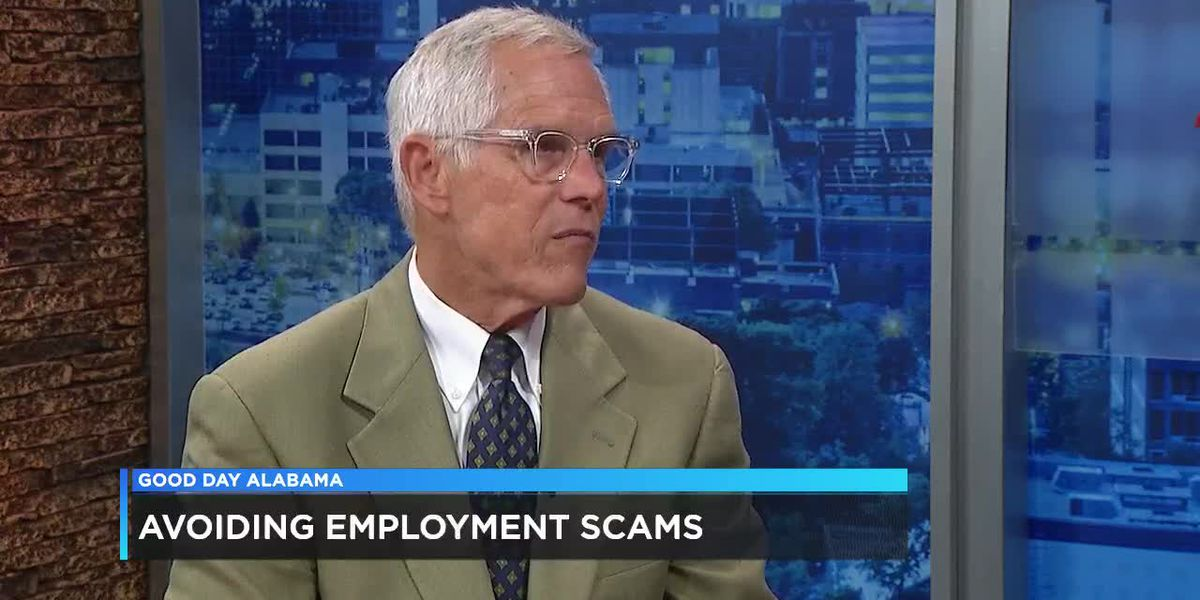 Beware of employment scams!