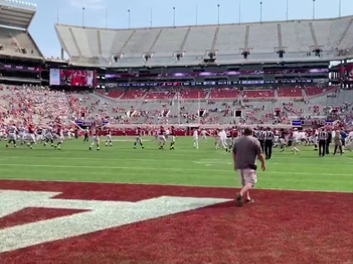 Air attack highlights Alabama A-Day spring game