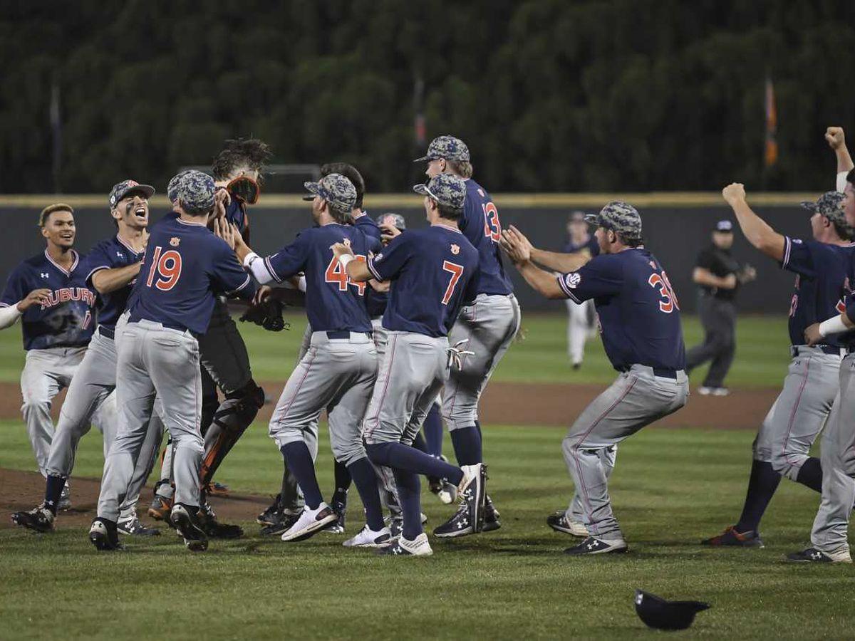 Auburn baseball advances to Super Regional for second consecutive year
