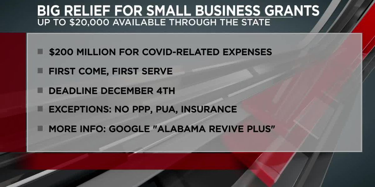 Big relief for small businesses