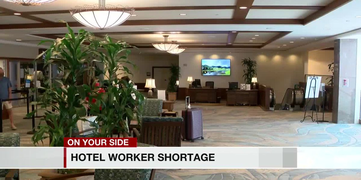 Hotel industry faces worker shortage