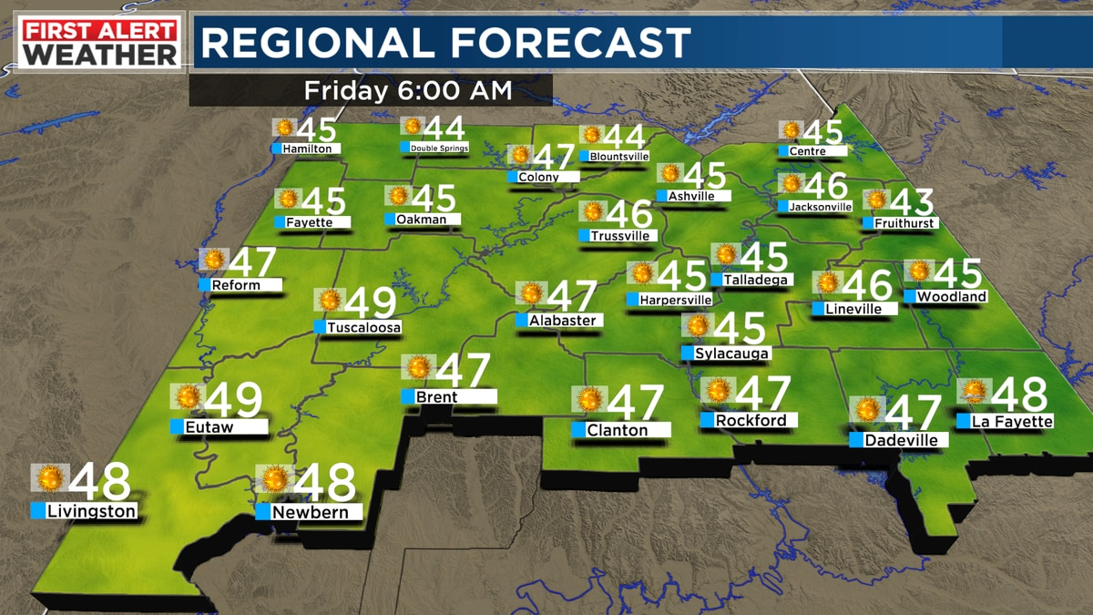 First Alert: If you get cold easily you'll probably need the heat Thursday night