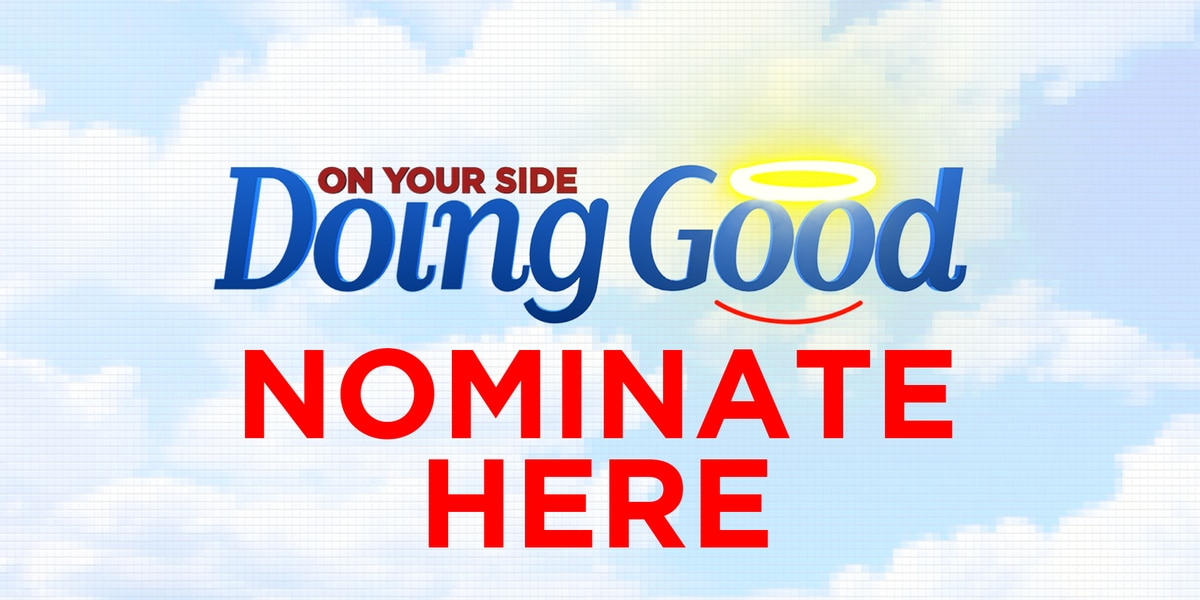 "Know someone ""Doing Good""? Nominate them!"