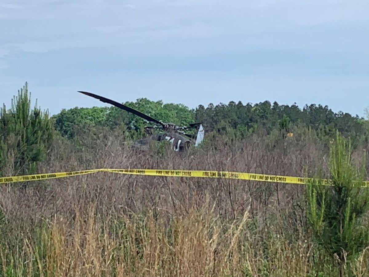 2 injured after Fort Rucker training helicopter crash