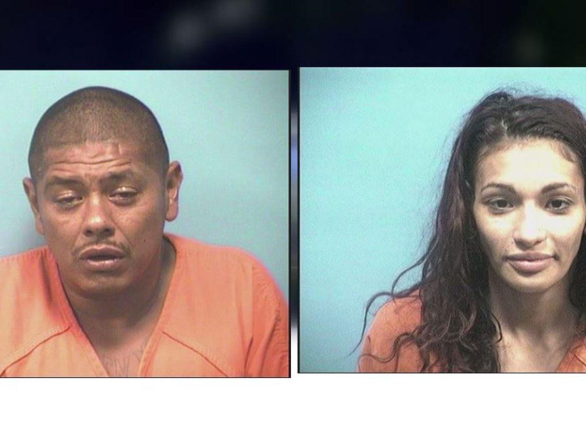 Calera police arrest two people for cocaine trafficking arrest off I-65