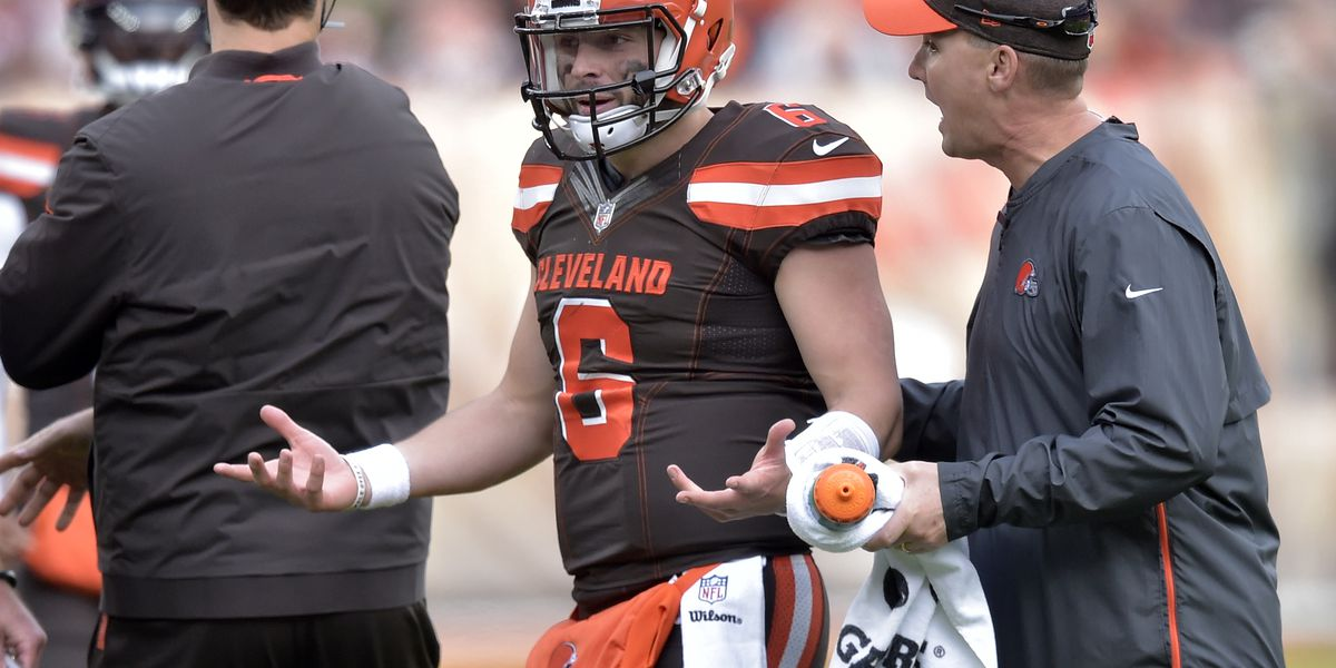 Mayfield hopes NFL officials find consistency on helmet hits