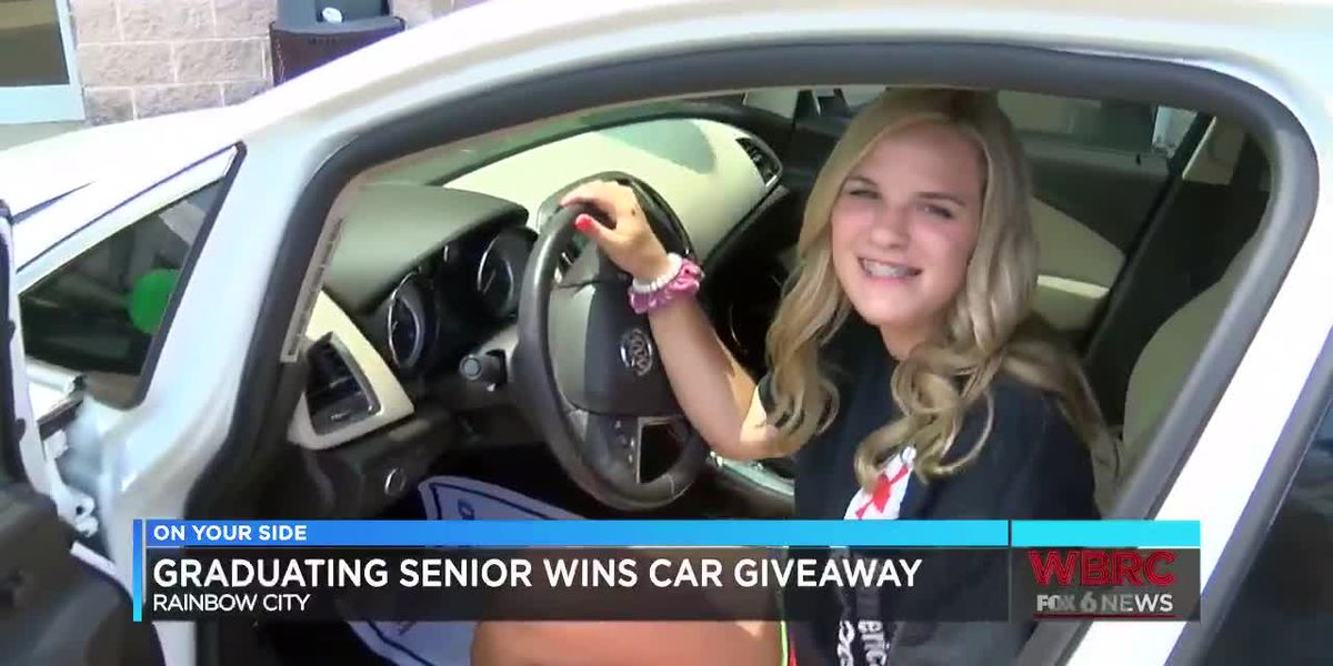 Hokes Bluff HS salutatorian wins car giveaway