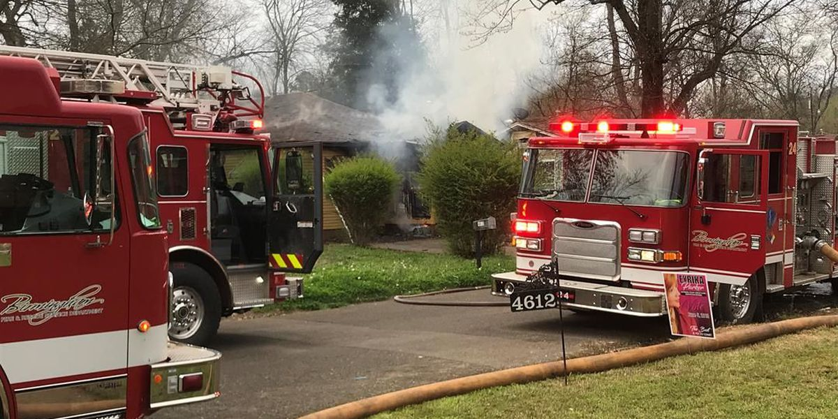 Person rescued from Birmingham house fire