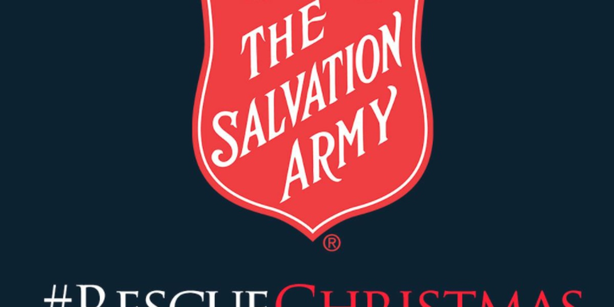 Help the Birmingham Salvation Army 'Rescue Christmas' and reach kettle goal