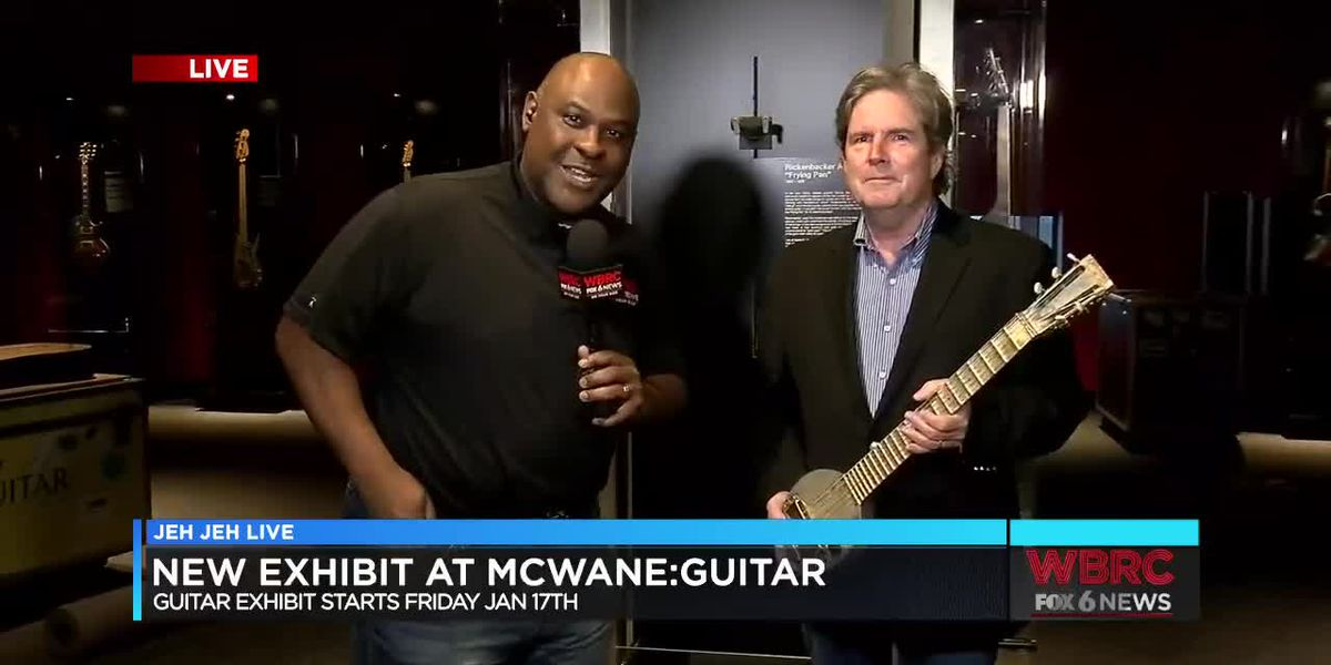 Jeh Jeh Live: McWane Exhibit: Guitars