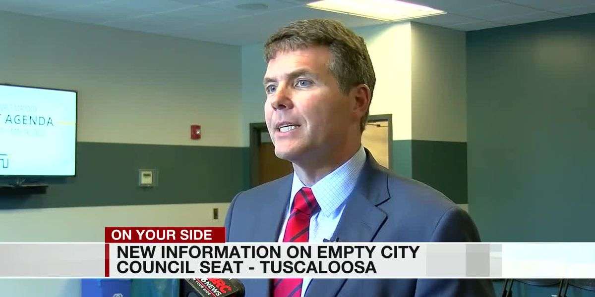 New info. on empty city council seat in Tuscaloosa