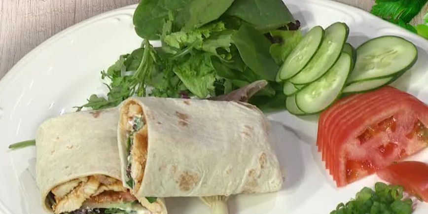 Chef Louie Consoli: Buffalo Chicken Wraps