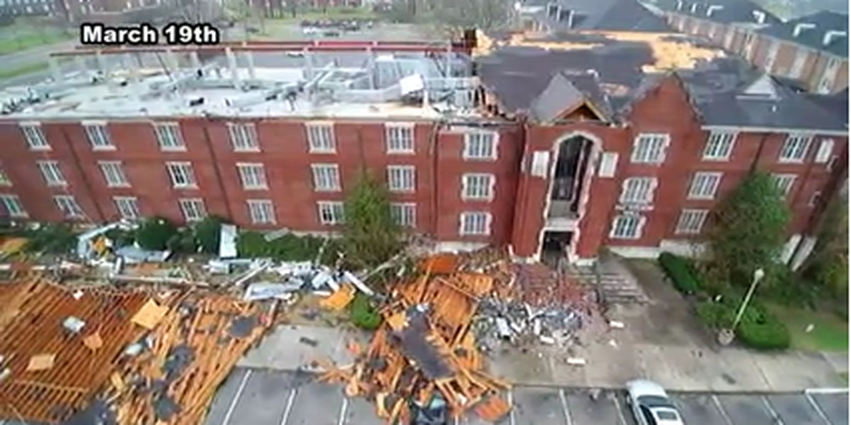 Jacksonville State reflects 6 months after EF-3 tornado hit campus