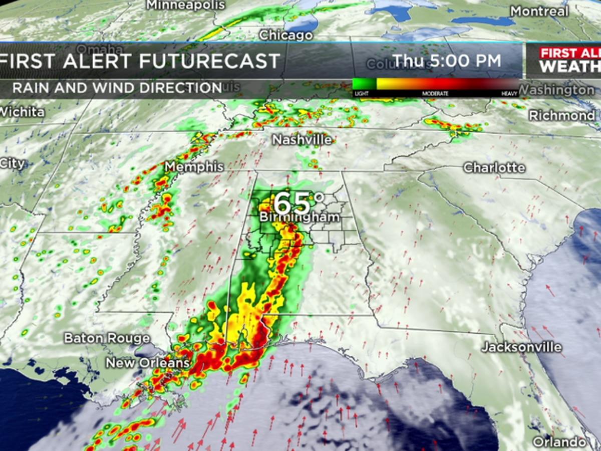 FIRST ALERT: Rain, storms return Thursday