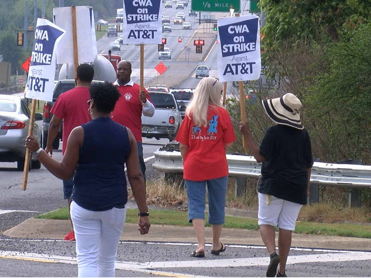 AT&T workers strike over contract negotiations